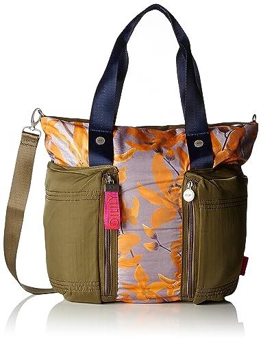 Damen Groovy Handbag Mhz Henkeltasche, Orange (Orange), 15x25x40 cm Oilily