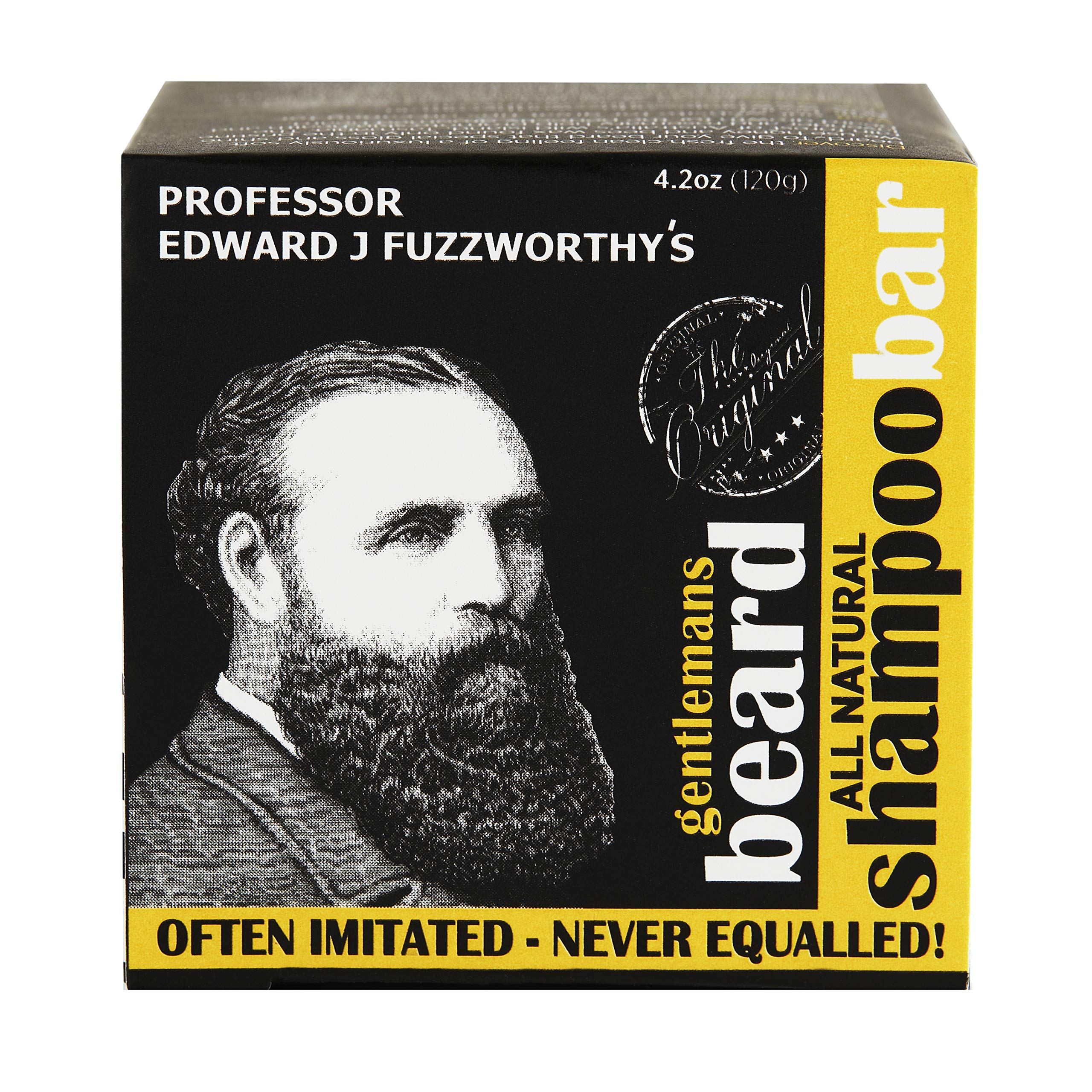 Beauty and the Bees Professor Fuzzworthy's Beard Shampoo with Natural Oils, 125g
