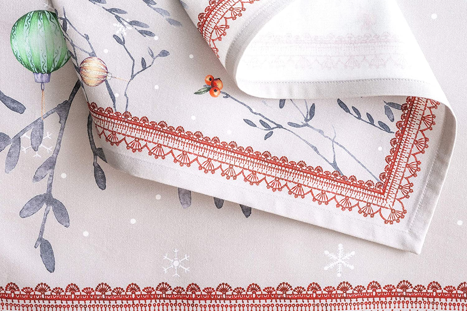 . 20 Inch by 20 Inch Maison d Hermine Orient 100/% Soft and Comfortable Set of 4 Napkins Perfect for Family Dinners Weddings Cocktail Kitchen