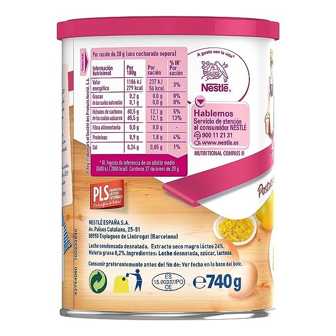 La Lechera Leche condensada - Paquete de 12 x 740 gr - Total: 8.88 kg: Amazon.es: Alimentación y bebidas