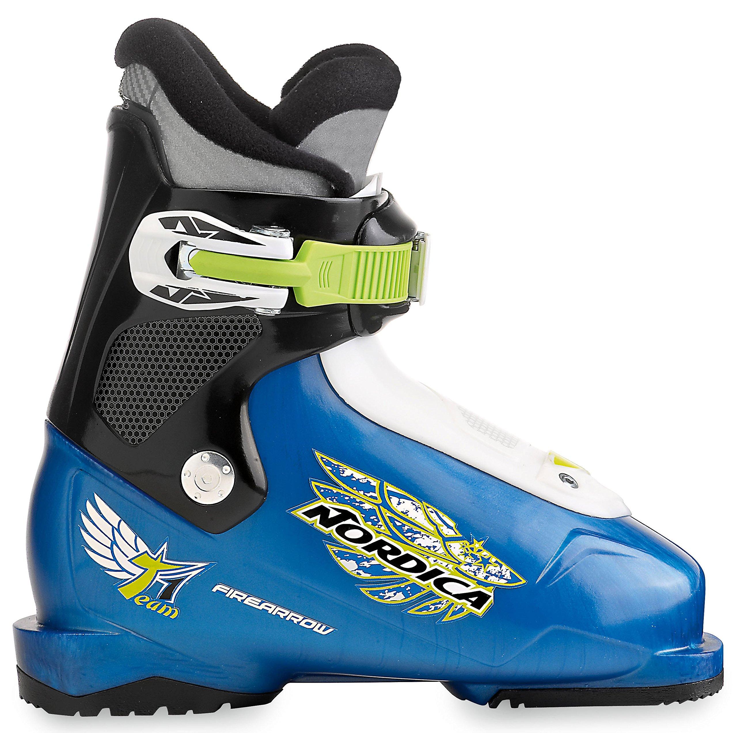 Nordica Firearrow Team 1 Ski Boot 2014, Light Blue/Black, 16.0 by Nordica