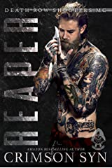Reaper (Death Row Shooters MC Book 1) Kindle Edition