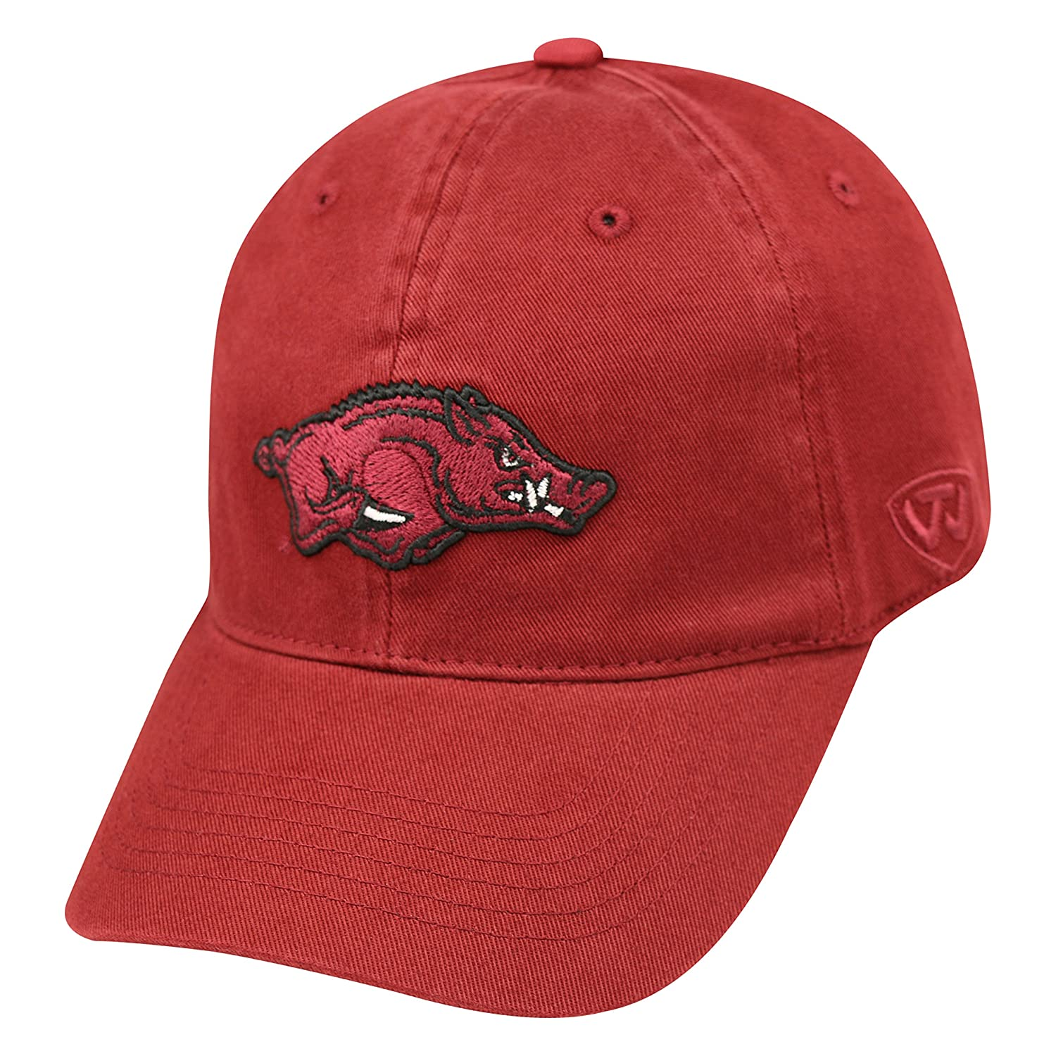 Arkansas Razorbacks Official NCAA One Fit Relaxer by Top of the World 739403