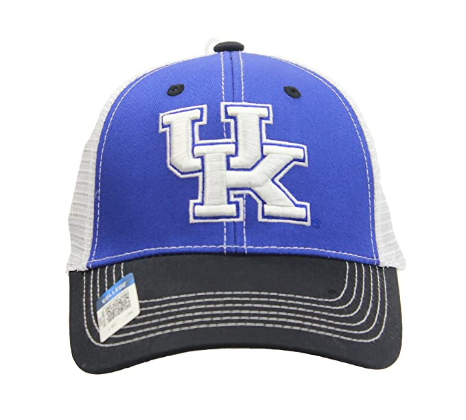 e9af62a1cde20 Image Unavailable. Image not available for. Color  National Cap NCAA  Eliminator Mesh Trucker Snapback (University Of Kentucky - Wildcats)