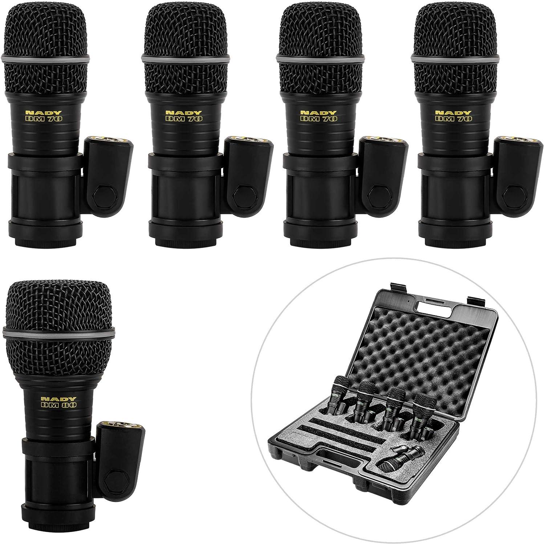 Nady DMK-5 Five Piece Drum Microphone Kit