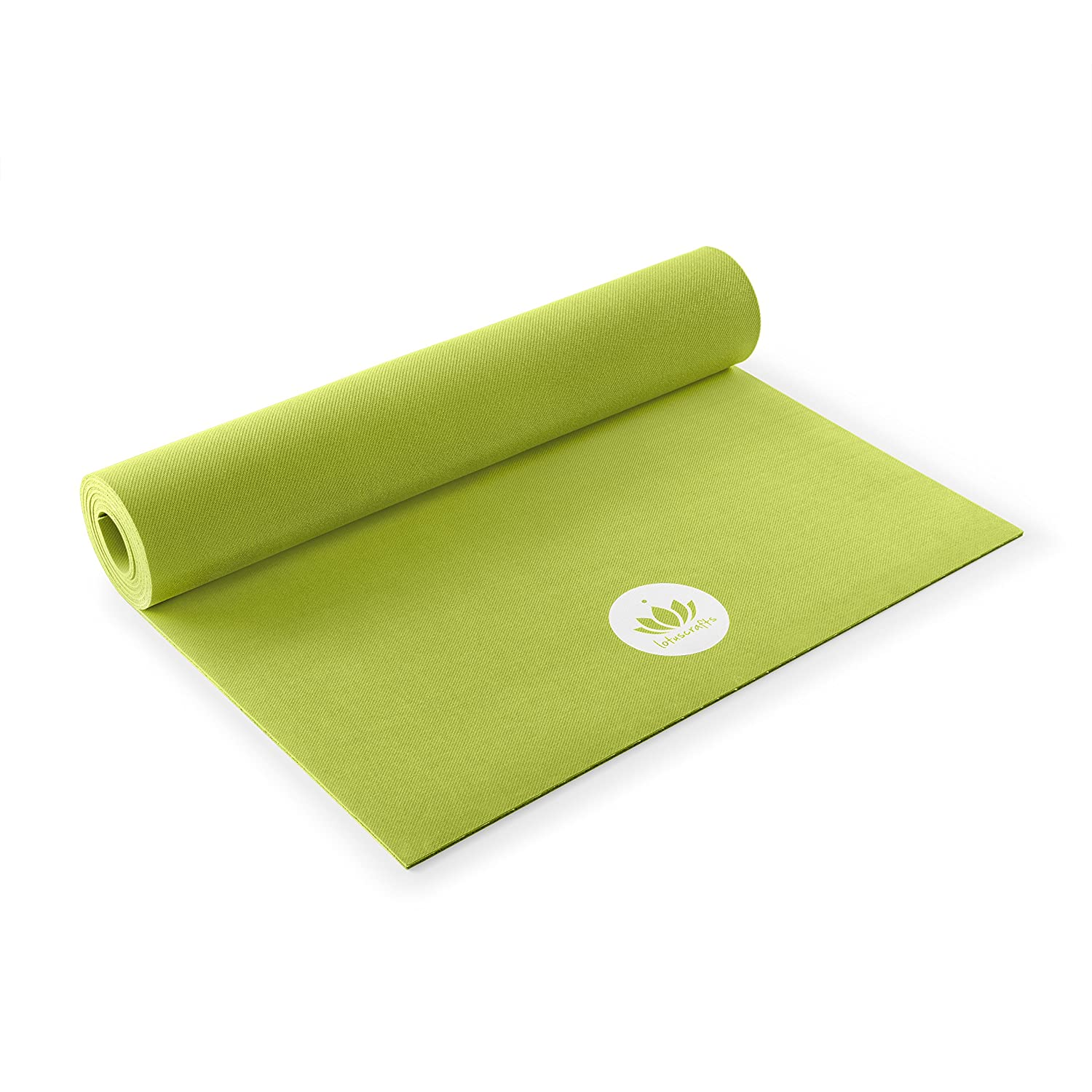 f2a47031b Lotuscrafts Rubber Yoga Mat Oeko - 100% Natural and Ecological - Eco  Friendly Yoga Mat Non Slip - Non Toxic Yoga Mat Rubber - Yoga Mat for Home  and Gym ...