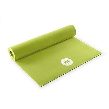 Lotuscrafts Esterilla Yoga Antideslizante Natural Caucho Oeko - 100% Natural y Ecológica - Colchoneta Yoga Antideslizante Ecologica - Esterilla ...