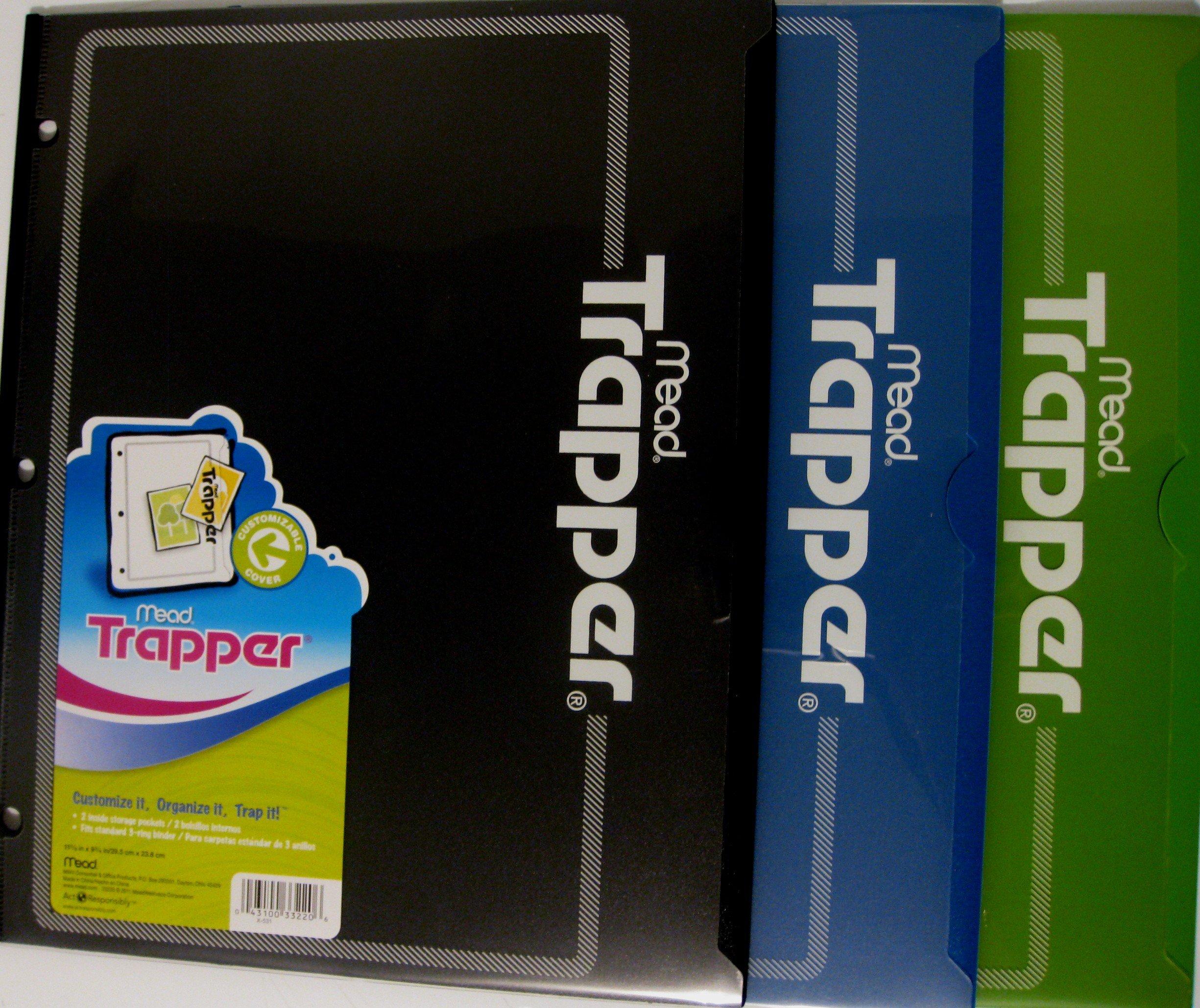 Plastic Two Pocket Folder-Boys pack