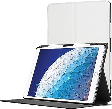 Forefront Cases Smart Funda para iPad Air 3 2019 | Estuche Protector con Cierre Magnético para Apple iPad Air 3 2019 Modelo | Smart Auto Sueño Estela Función | Delgado Ligero | Blanco: Amazon.es: Electrónica