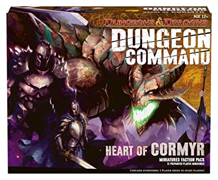 Amazon Com Dungeons And Dragons Command Heart Of Comyr Board Game