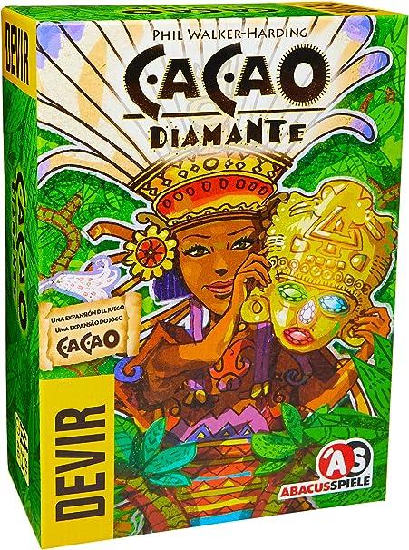 Devir- Cacao: Diamante, Multicolor (1): Amazon.es: Juguetes y juegos