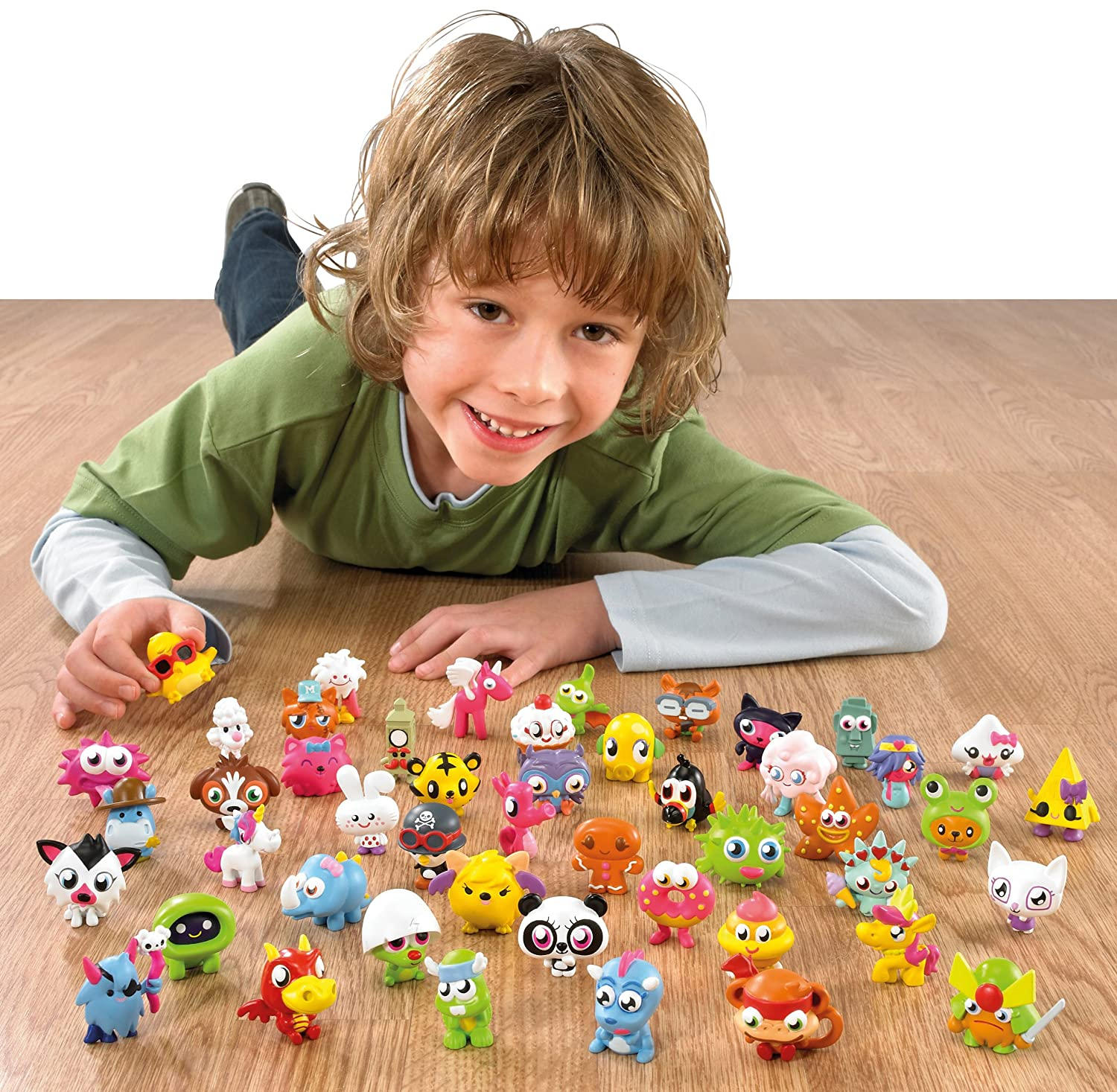 Amazon.com: Moshi Monsters Series 2 Moshling Collectible Figures: Toys & Games