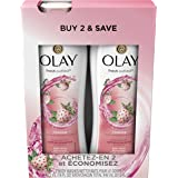 Olay Fresh Outlast Cooling Body Wash, White Strawberry/Mint - 16.0 Fl Oz, 2 Count