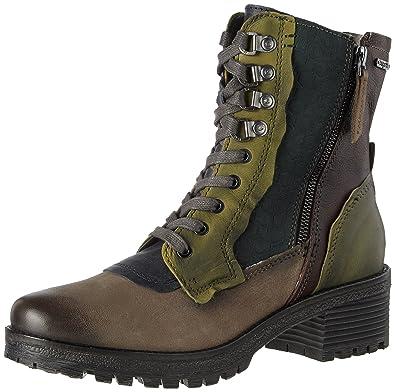Womens 411333323030 Boots, Green Bugatti