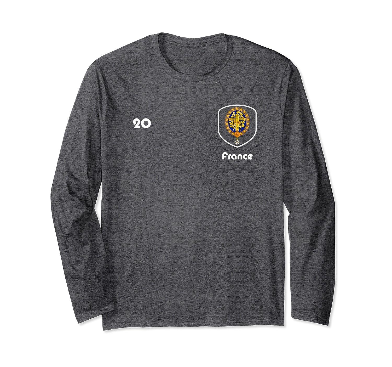 French Player 20 Soccer Shirt Russia 2018 TShirt Football