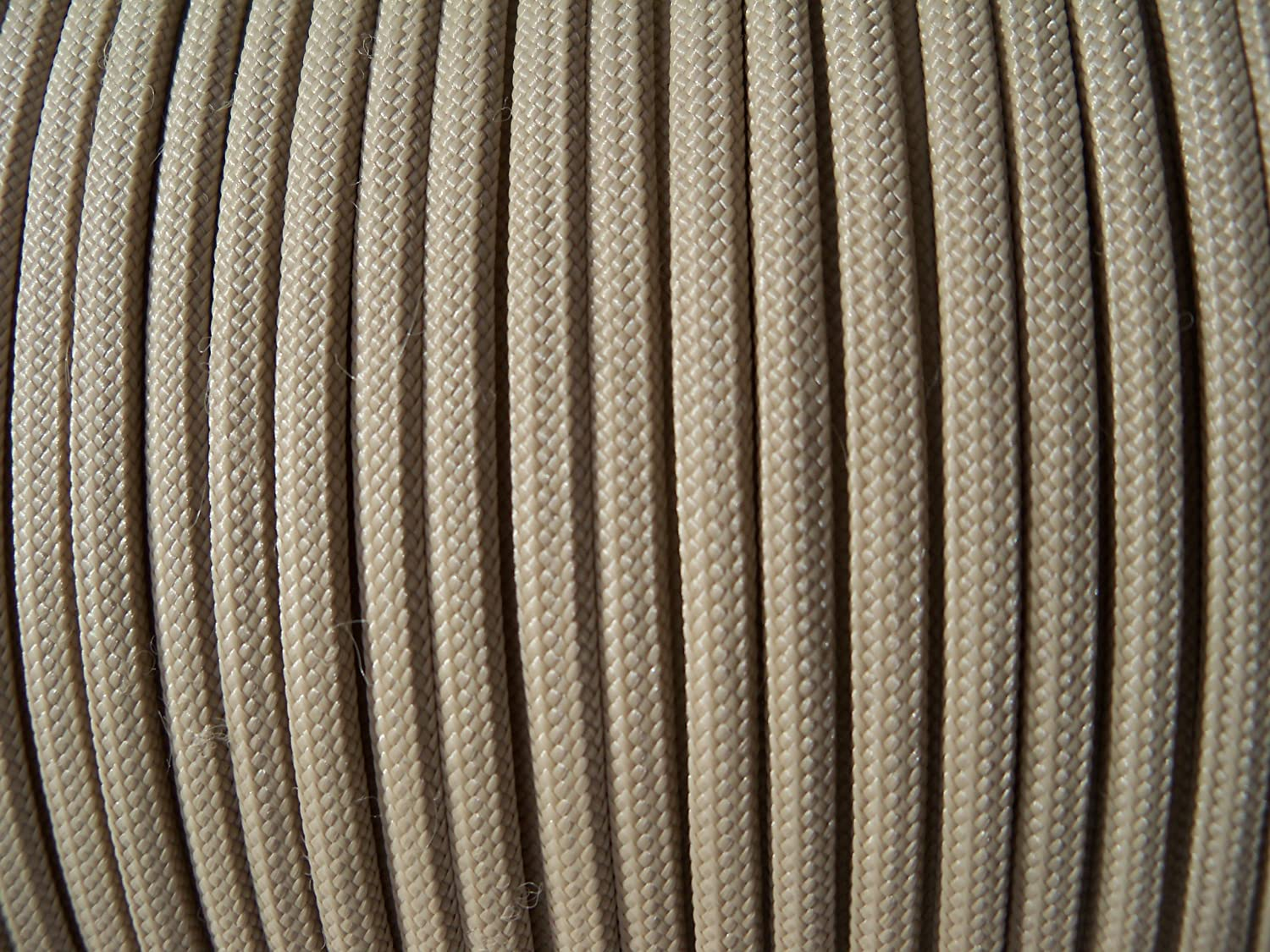 16 Feet of Parachute Cord generic Desert Sand Paracord Craft Cord 16ft