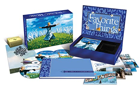 Amazon com: The Sound of Music (45th Anniversary Blu-ray/DVD