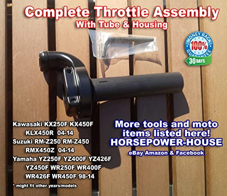 Amazon com: Complete Throttle Assembly Set Kit with Tube and