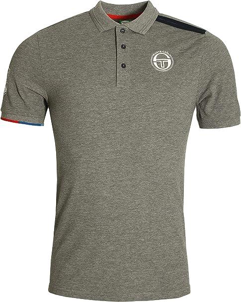 Sergio Tacchini IELIN Polo Shirt | Grey Medium: Amazon.es: Ropa y ...