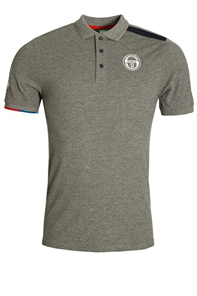 Sergio Tacchini IELIN Polo Shirt | Grey Medium: Amazon.es: Ropa y ...
