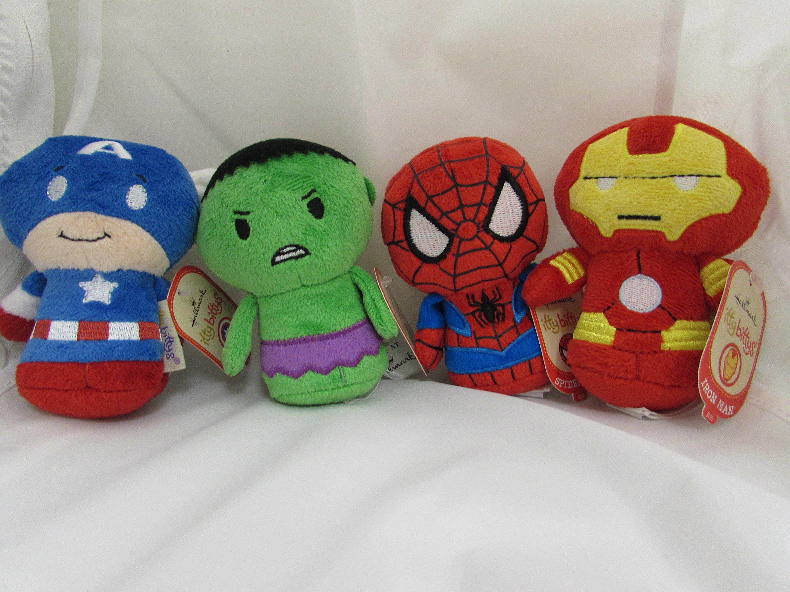 Super Hero Set # 2 Itty Bitty's (Hallmark)