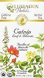 Celebration Herbals Teabags Herbal Catnip Leaf and Blossom Organic -- 24 Herbal Tea Bags