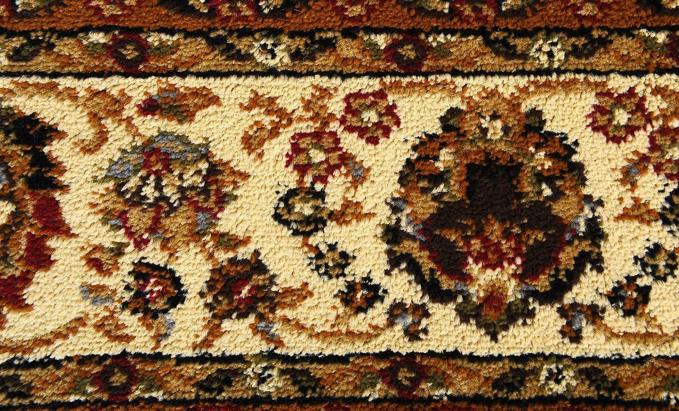 Oriental Black Home Dynamix 8083-450 Royalty Ursa Traditional Area Rug 78x104