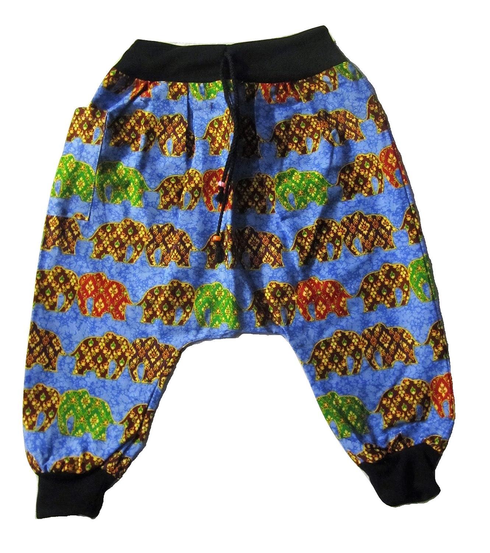 Blue Kids Elephant Pant