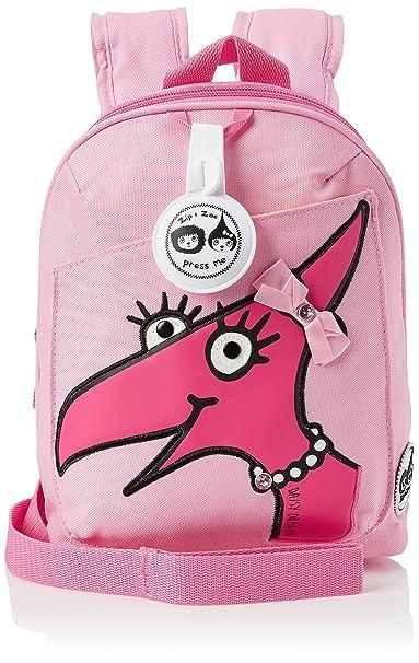 17733af72 Amazon.com: Babymel Zip & Zoe Kids Mini Backpack Dino Daisy Face ...