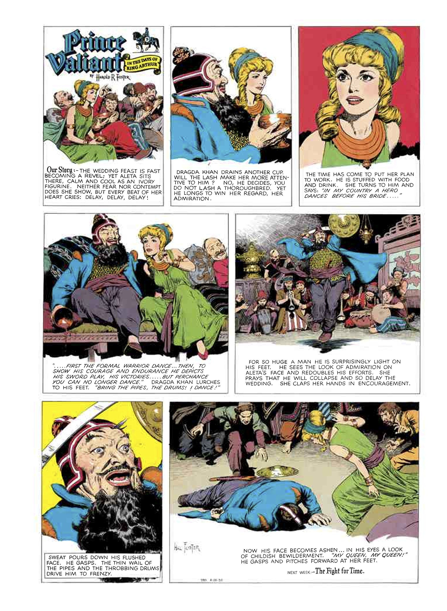 Amazon.com: Prince Valiant, Vol. 10: 1955-1956 (9781606998007): Hal Foster,  Tim Truman: Books