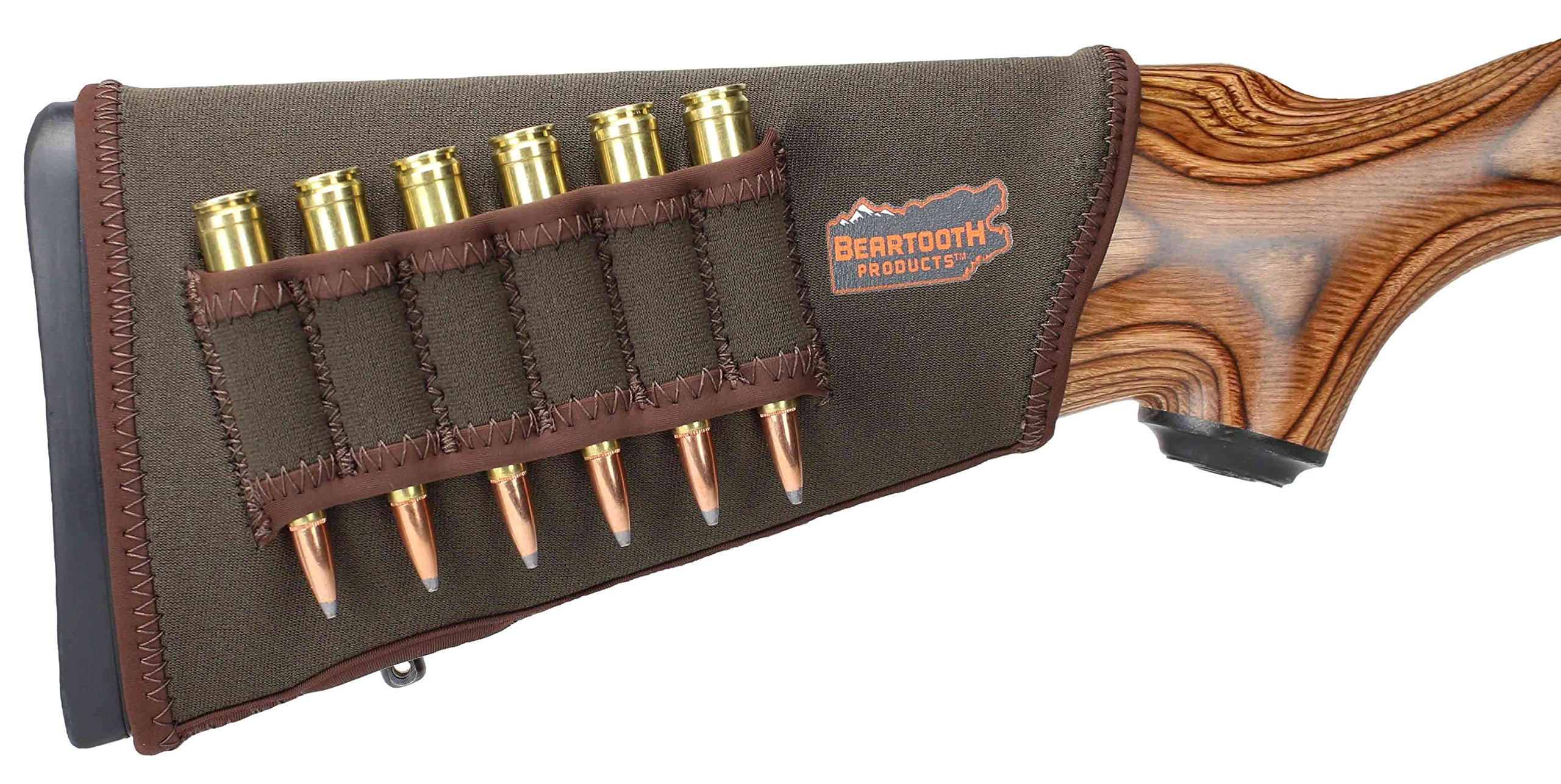 Beartooth StockGuard 2.0 - Premium Neoprene Gun Stock Cover - Rifle Model (Brown) by Beartooth Products
