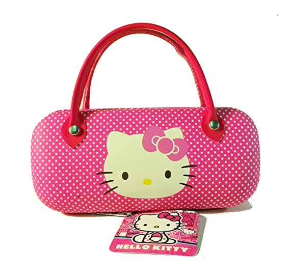 bf062d4a187 Image Unavailable. Image not available for. Color  Hello Kitty Hard  Eyeglass Case