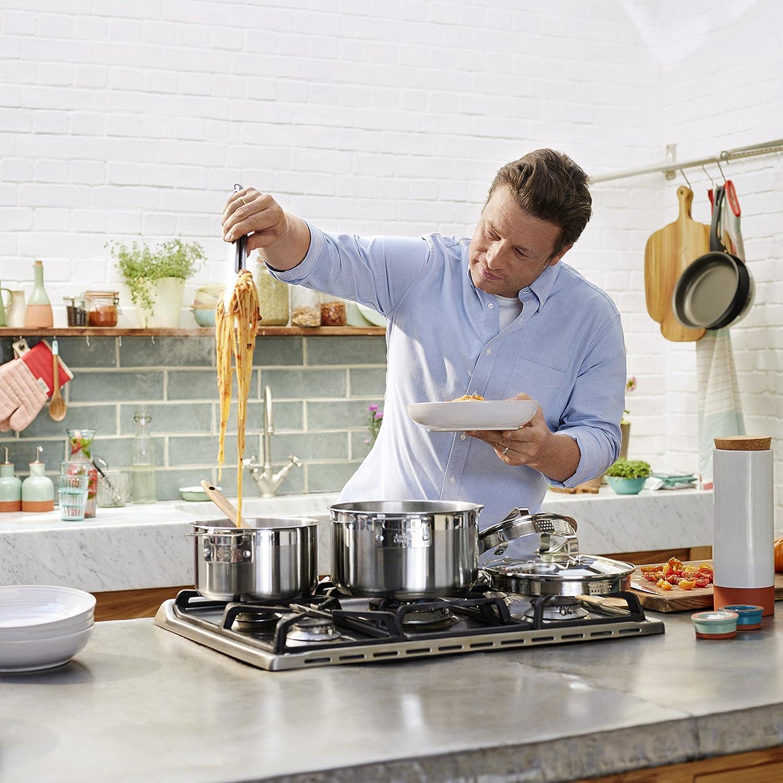 Jamie Oliver Stieltopf 16 cm mit Deckel