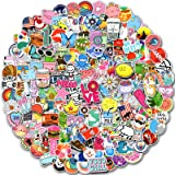 200 PCS Random Stickers Pack (50-500Pcs/Pack), Colorful Waterproof Stickers for Flask, Laptop, Phone, Water Bottle, Cute Aest