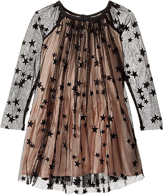 025c5f176 Stella McCartney Kids Baby Girl's Misty Star Embroidered Tulle Dress  (Toddler/Little Kids/Big Kids) Black Dress: Amazon.ca: Clothing &  Accessories