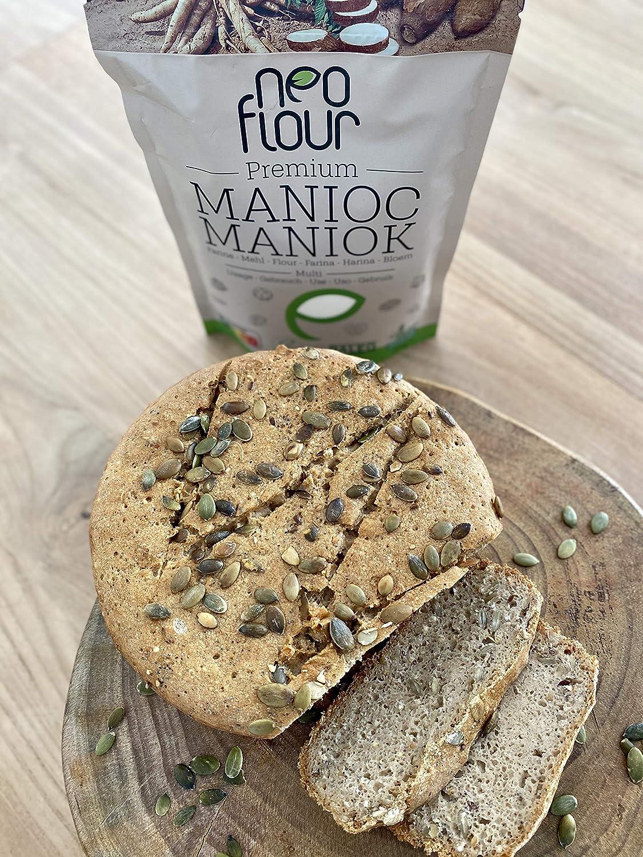 Harina de Yuca Premium / Sin gluten / 100% natural / Sin ...
