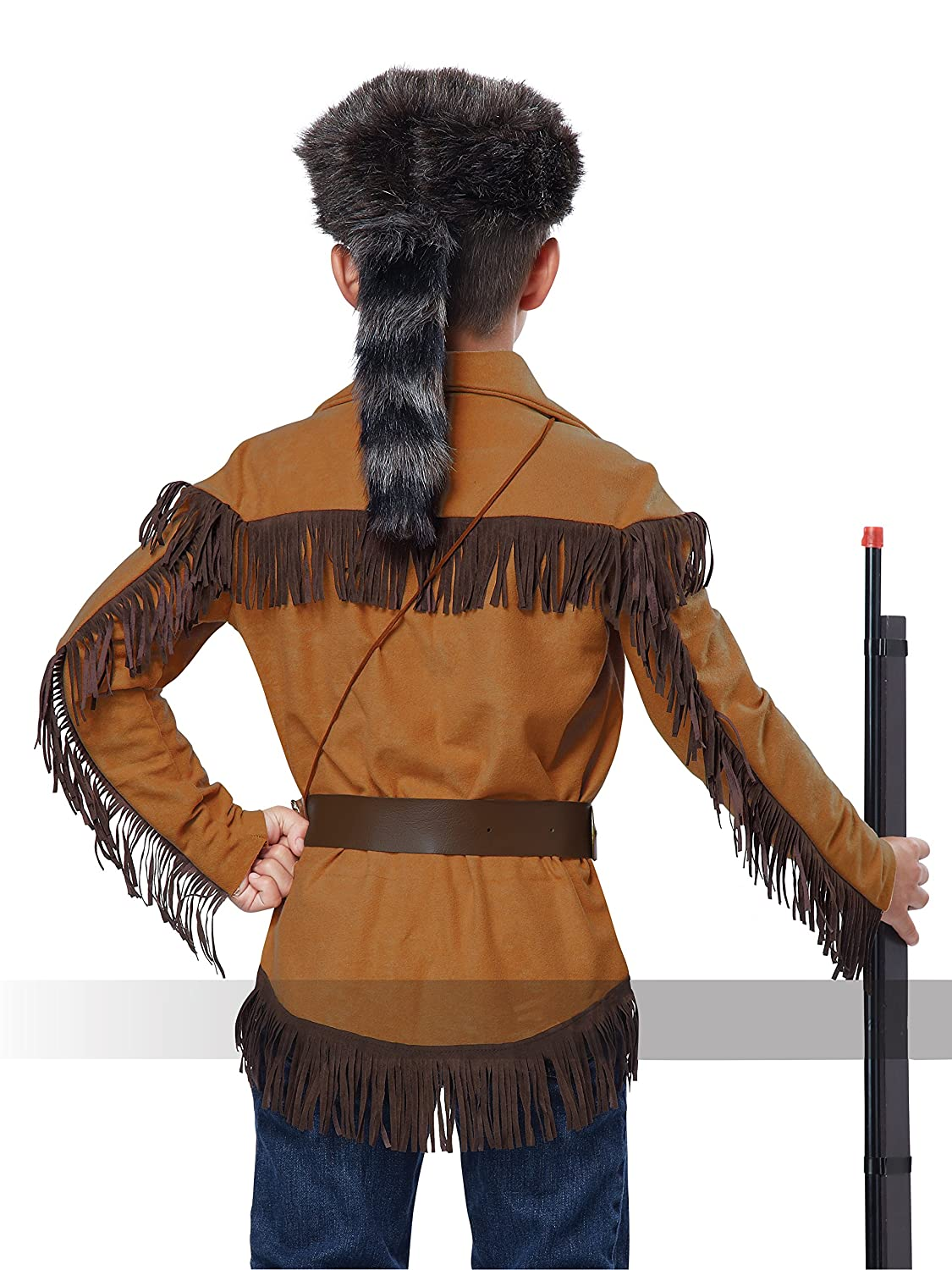 fbbfd0a6 Amazon.com California Costumes Frontier Boy/Davy Crockett Boy Costume One  Color Large Toys U0026 Games Sc 1 St Amazon.com