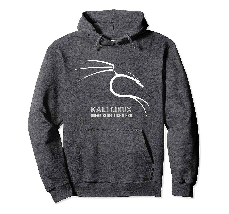 Kali Linux T Shirt Hoodie Dragon Backtrack-fa