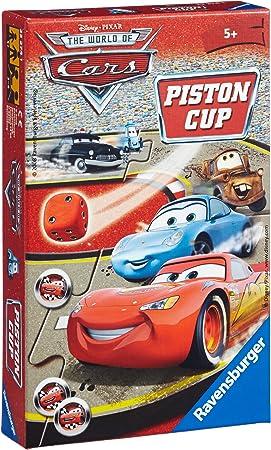 Ravensburger 23274 Disney Cars: Piston Cup - Juego de Mesa: Amazon.es: Juguetes y juegos