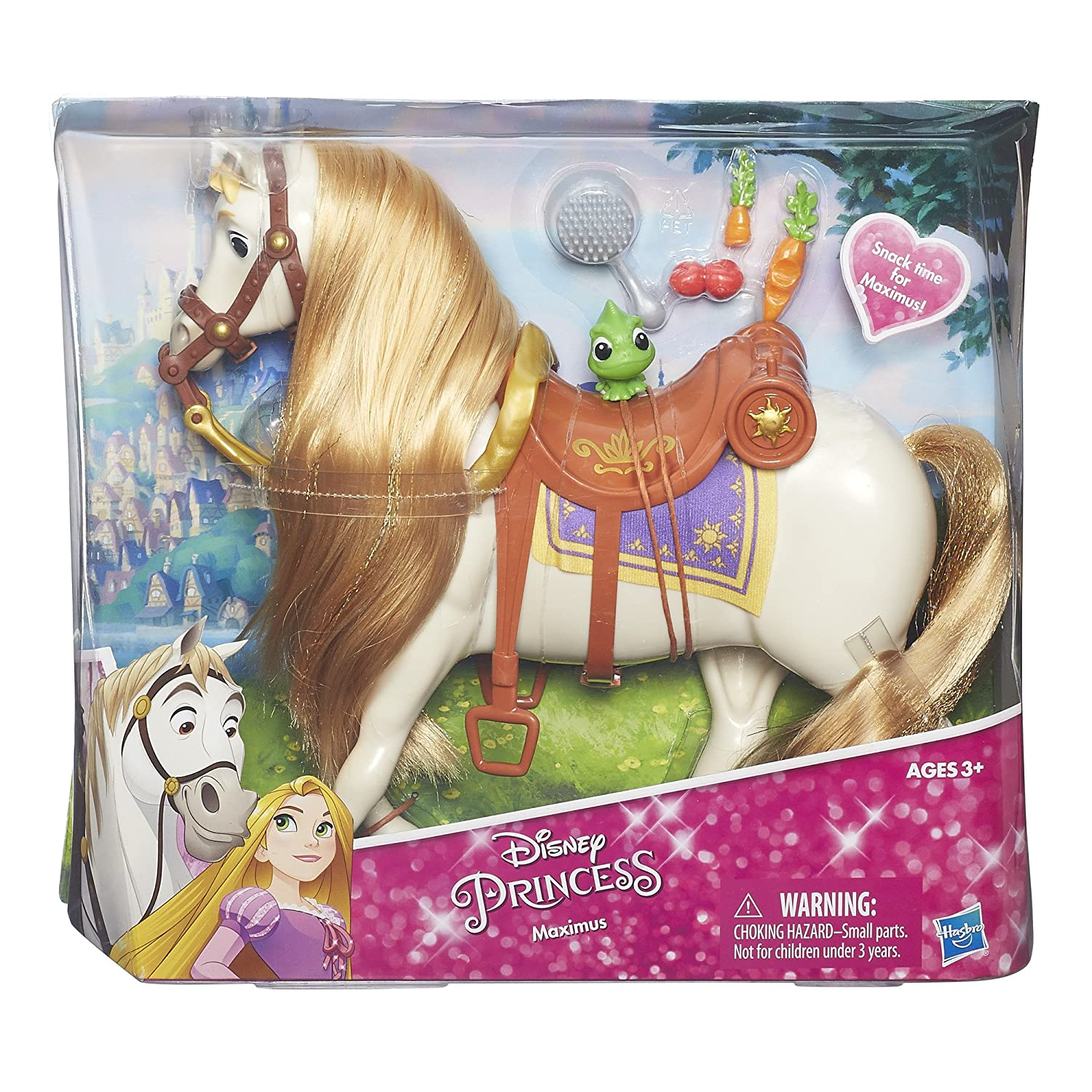 Amazon Disney Princess Rapunzel s Horse Maximus Toys & Games