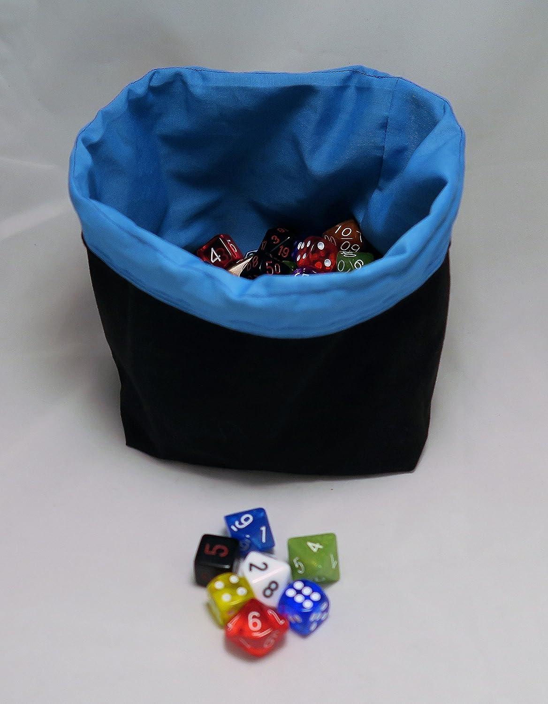 D/&D Die Holder Freestanding Reversible Square Base Solar System Dice Bag Tile Pouch RPG Destiny Gift Handmade bag for d and d