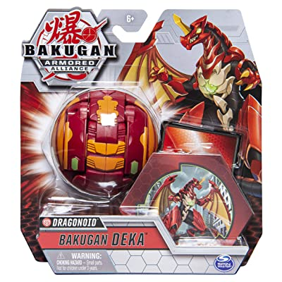 Bakugan BTB Deka Dragonoid Red GBL: Toys & Games