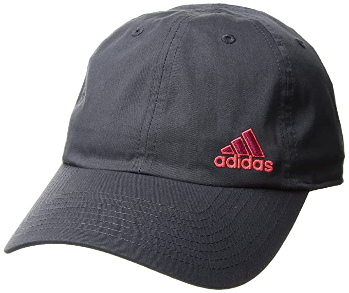 a9ee473e98e79 adidas Women s Squad Cap Deepest Space Bold Pink Flash Red Poison Ivy Print