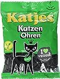 Katjes Katzen Ohren – Kultige Lakritz Süßigkeit mit Kräutern – Der Klassiker unter den Süßigkeiten  (10 x 200 g)