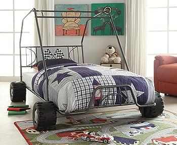 Xander Racing Car Twin Bed
