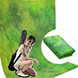 Fond Tissu Studio Photo Video DynaSun W089 DreamGreen 120g/sqm Réalisés à la main