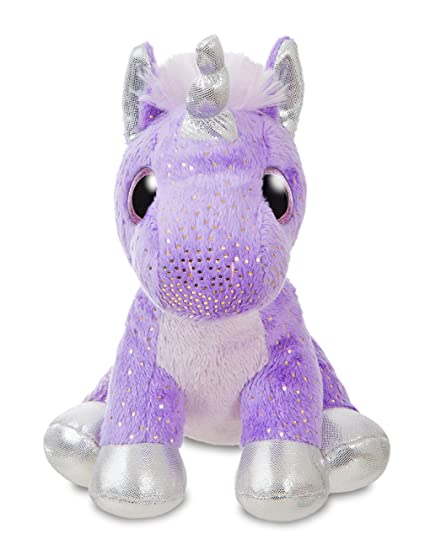 93b9cb3bb87 Amazon.com  Aurora World 60878 Sprinkles Purple Unicorn 7In  Toys ...