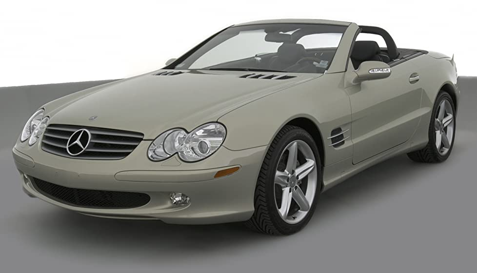 2004 Mercedes Benz Sl500 Reviews Images And