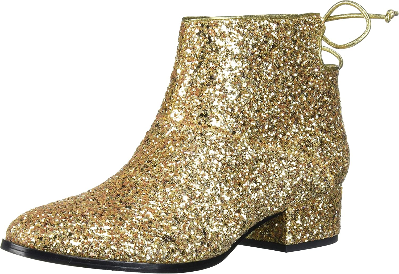 Whitnee-Chunky Glitter Ankle Boot