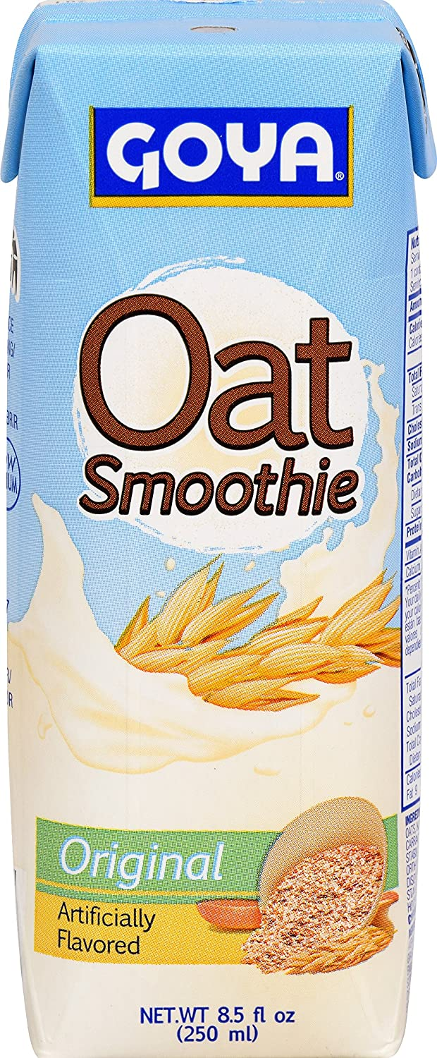 Amazon.com : Goya Foods Oat Smoothie, Strawberry, 8.5 Ounce (Pack of 24) : Grocery & Gourmet Food